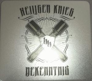 Heiliger Krieg - Bekenntnis - Blechbox 100 Stück