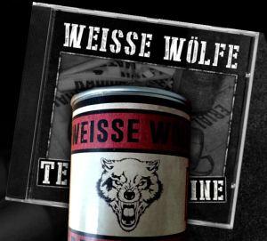 2015-03 - Weisse Wölfe - Terrormachine - Blechdose 88 Stück