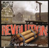 Act of Violence - Revolution   front2
